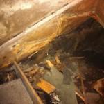 Renovering källartrappa - 2 - ruttet