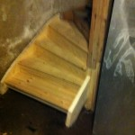 Renovering källartrappa - 4 - slutresultat