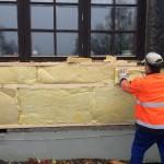 Fuktskadad vägg - isolering