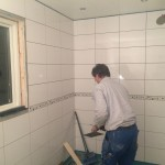 Nytt badrum - fogning