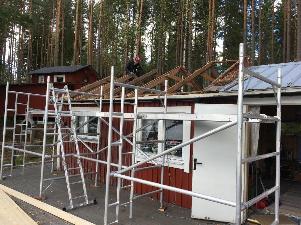 Omläggning tak
