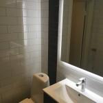 Litet badrum - toalett